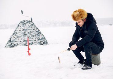 """""""Rybka na zimno"""". Renesans wędkowania spod lodu!"""